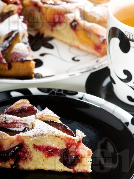 Плодов кейк с боровинки - снимка на рецептата